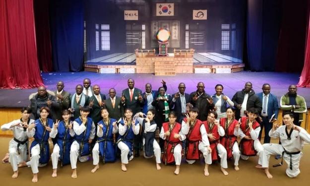 16 Ivoiriens en apprentissage du modèle Coréen en matière de gestion de centres sportifs combinés