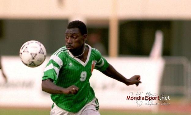 7 buts inscrits lors du seul ''Côte d'Ivoire – Namibie'' de l'histoire! Tiéhi Joël s'était offert un doublé