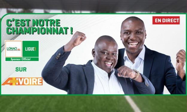 A+IVOIRE fière d'être le diffuseur officiel de la LONACI Ligue 1