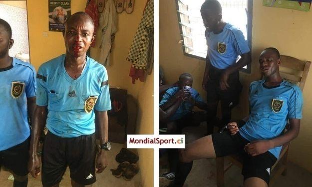 Affaire ''arbitres tabassés au Ghana'' : la CAF condamne et exige une enquête approfondie