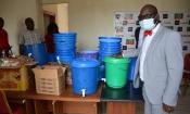Africa Sports : Don de matériel sanitaire aux joueurs et au personnel du club