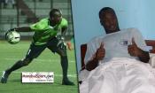 Africa Sports : Plus d'un mois après son opération du genou, Gbané Mohamed donne de ses nouvelles
