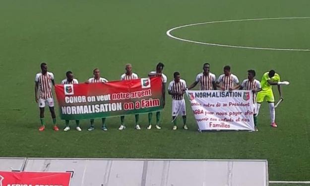 Africa Sports : Quand les joueurs réclament leurs salaires au Comité de Normalisation