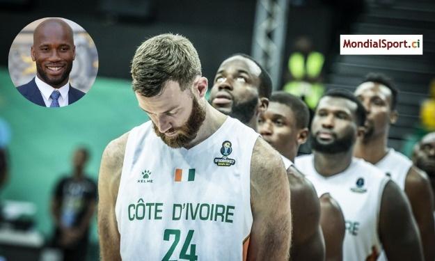 Afrobasket 2021 : Le message de Drogba après la qualification des Eléphants Basketteurs pour la finale