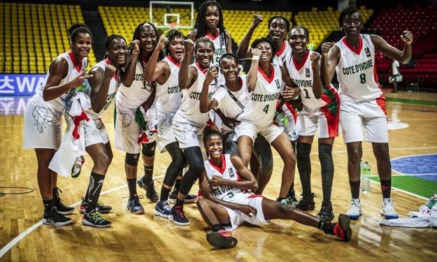 AfroBasket Dames 2019 : Les Ivoiriennes surclassent les Tunisiennes et se hissent en quarts de finale