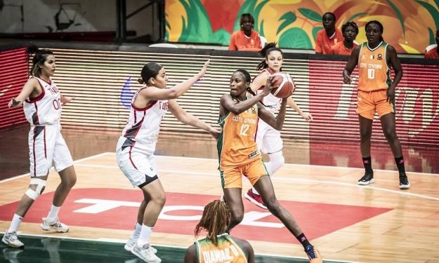 Afrobasket Dames 2021 : Entrée en lice réussie pour les Eléphantes face à la Tunisie