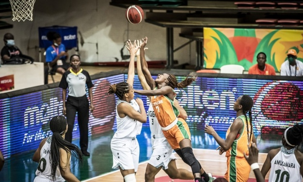 Afrobasket Dames 2021 : La marche était trop haute pour les Eléphantes contre le Nigeria