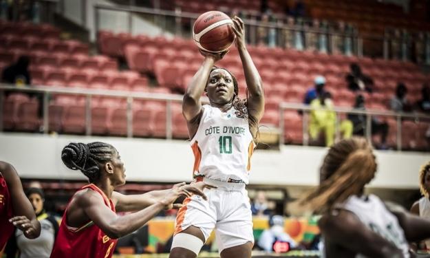 Afrobasket Dames 2021 : Les Eléphantes surclassent la Guinée et se qualifient pour les quarts