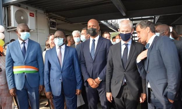 Koumassi : La promotion et l'économie du sport au cœur de plusieurs accords conclus en présence de Drogba