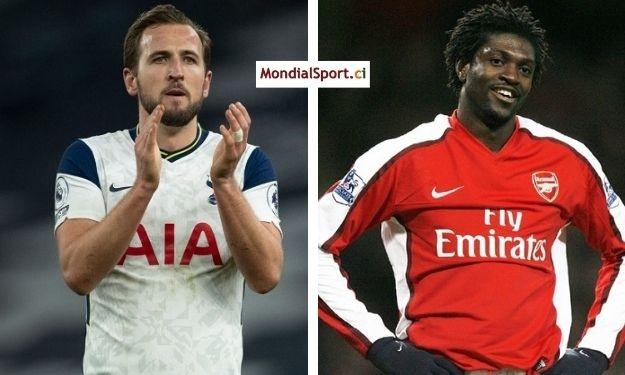 Angleterre : Harry Kane arrache un record à Emmanuel Adebayor