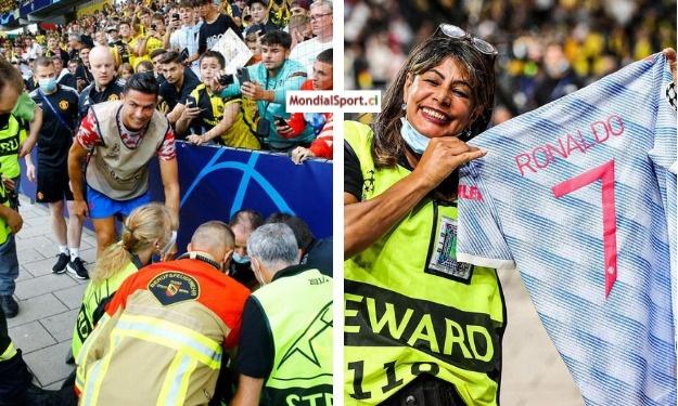 LDC : Après avoir assommé une stadière, Cristiano Ronaldo lui offre son maillot