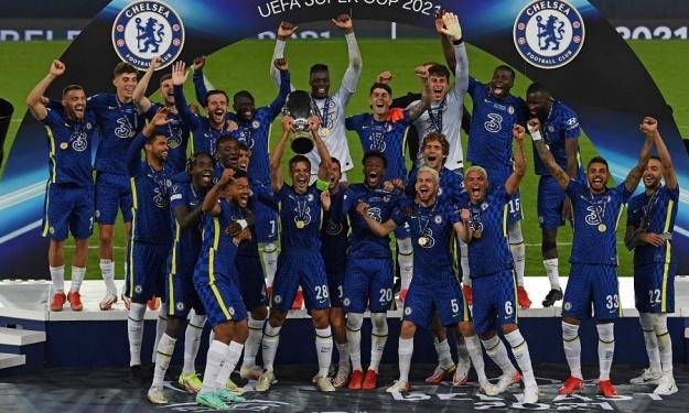 Après la C1, Chelsea remporte la 2è Supercoupe d'Europe de son histoire