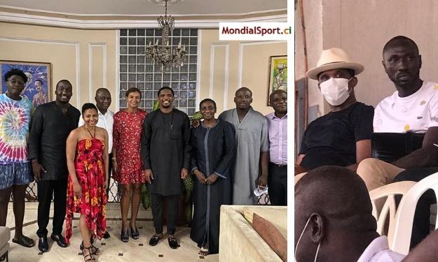 Après s'être rendu au domicile de Feu Sidy Diallo, Samuel Eto'o s'invite au Champroux