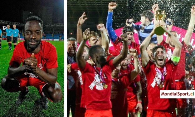 Arménie : Koné Mory offre la Coupe à sa formation et un passe en Ligue Europa