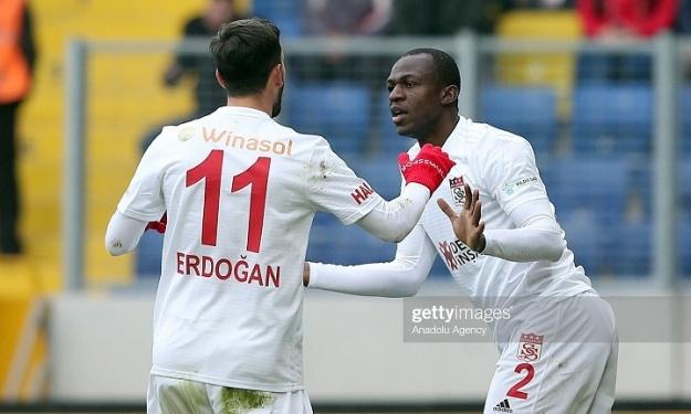 Arouna Koné buteur avec Sivasspor