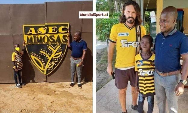 ASEC Mimosas : L'histoire de Sam et Akim, ces fervents supporters venus expressément du Ghana soutenir leur club de rêve