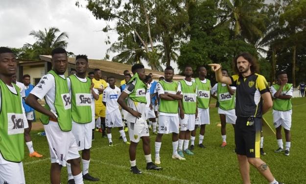ASEC Mimosas : Les entraînements ont repris du côté de Sol Béni