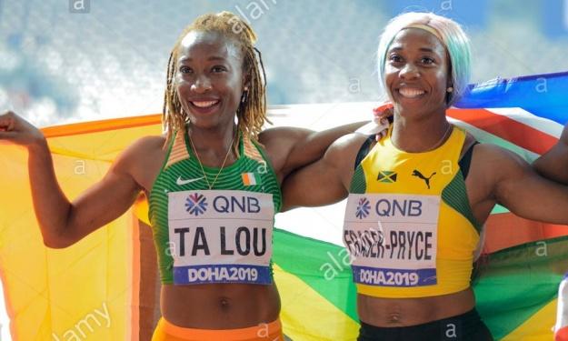 Athlétisme : Fraser-Pryce reconnaissante envers Ta Lou Marie Josée