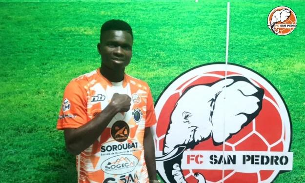 Bamba Ladji signe son retour au FC San Pedro