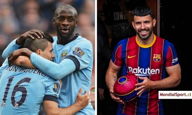 Barça : Yaya Touré souhaite bonne chance à son ami Aguero