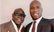 Basile Boli apporte son soutien à Drogba