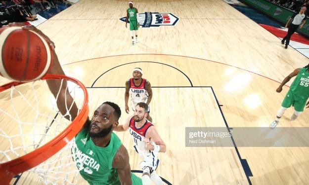 Basket : Le Nigeria inflige une défaite historique aux Etats-Unis