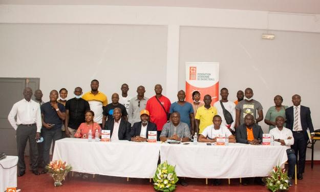 Basketball : Le Président de la Fédération Ivoirienne dresse le bilan moral et financier de l'année écoulée