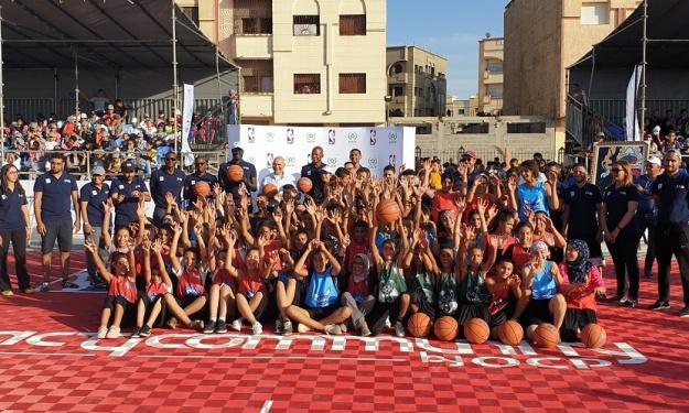 Basketball : Le Rwanda et le Maroc accueillent la Jr. NBA