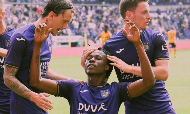 Belgique : Christian Kouamé met déjà Anderlecht à ses pieds