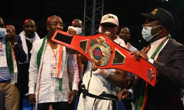 Boxe : Youssouf Doumbia conserve son titre de Champion Intercontinental IBA