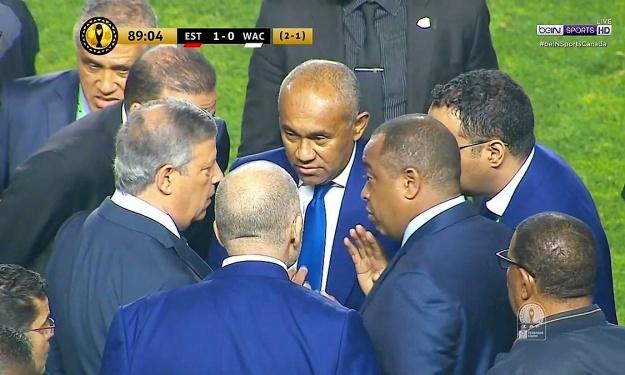 CAF   Ahmad convoque une réunion d'Urgence suite à la finale scandaleuse de la Ligue des Champions