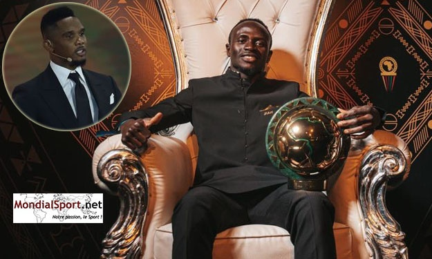 CAF Awards 2019 : Eto'o félicite Mané et ramène Salah et Mahrez sur terre
