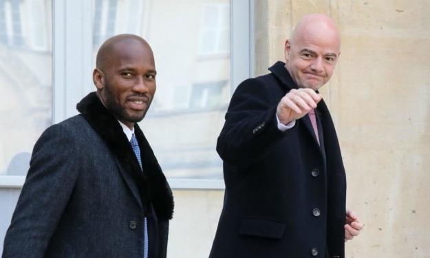 Drogba débarqué par Ahmad Ahamad à cause d'Infantino ? la réaction du Président de la CAF