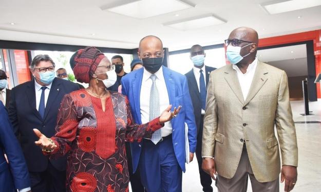 CAF : Le déroulé de la première journée de Patrice Motsepe en Côte d'Ivoire