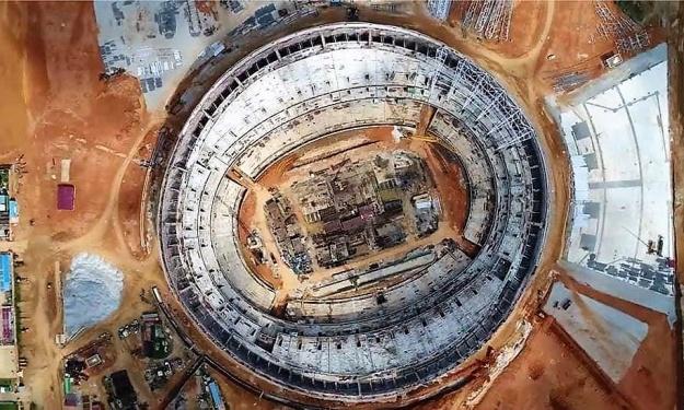 CAN 2021 : Déclaration du Chef de mission des travaux de construction du Stade Olympique d'Ebimpé
