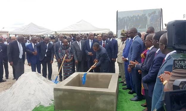 CAN 2021 : le nouveau Stade de Yamoussoukro a reçu sa première pierre