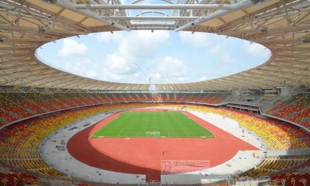 CAN 2021 : Le Stade Japoma prêt à plus de 90%