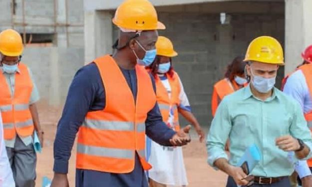 CAN 2023 : Anthony Baffoe est revenu sur les grands axes de la visite des experts de la CAF en Côte d'Ivoire