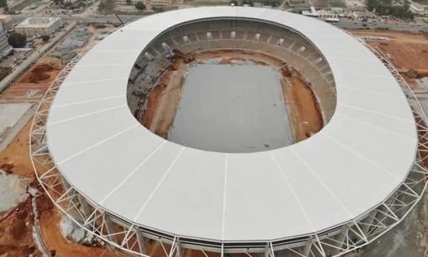 CAN 2023 : Le stade de Bouaké entièrement couvert