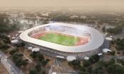 CAN 2023 : Le stade de Yamoussoukro en 3D