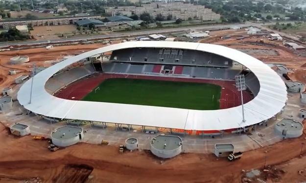 CAN 2023 : Le Stade de Yamoussoukro vu du ciel