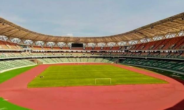 CAN 2023 : Le stade prévu pour la finale est quasiment prêt (images)