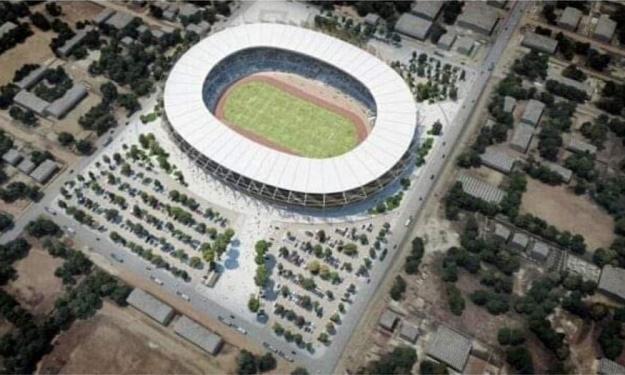 CAN 2023 : La réhabilitation du stade de Bouaké  en images