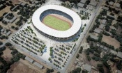 CAN 2023 : La réhabilitation du stade de Bouaké  en images