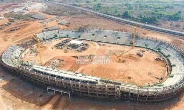 CAN 2023 | Stade de Korhogo : Où en sont les travaux ?