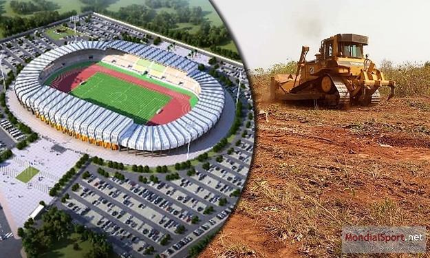 CAN en Côte d'Ivoire : les travaux de construction du Stade de Korhogo ont démarré