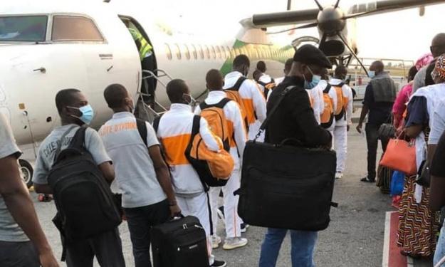 CAN U17 : ''Décimés'', les Eléphanteaux se sont envolés pour le Maroc ce matin