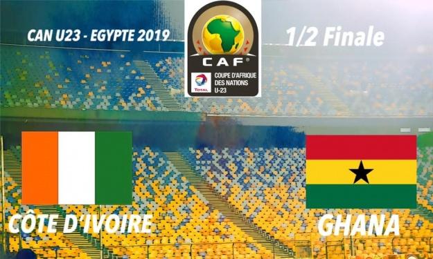 CAN U23 : ''Côte d'Ivoire – Ghana'' compos officielles des deux formations