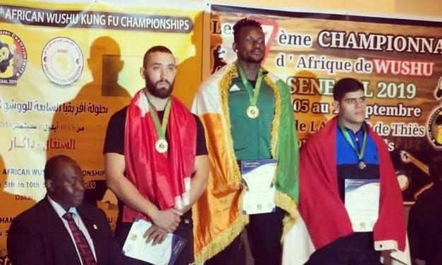 Champion d'Afrique 2019 de Kung-fu Wushu : Ricardo Bhaly couronné au Sénégal