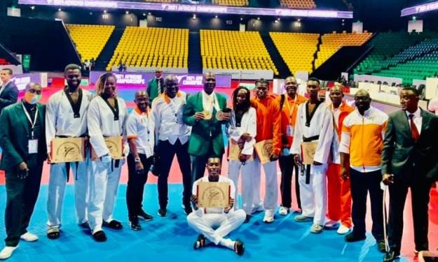 Championnat d'Afrique de Taekwondo : La Côte d'Ivoire remporte 11 médailles dont 3 en Or